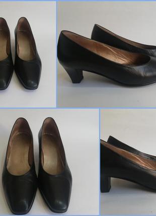 Кожаные трендовые туфли. шкіряні туфлі