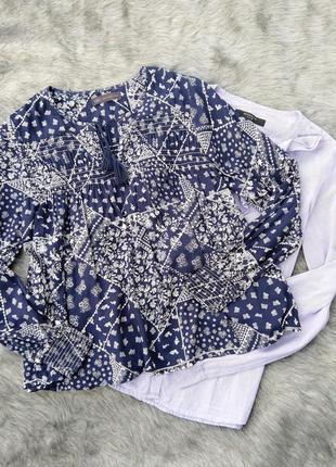 Блуза кофточка из натуральной вискозы marks & spencer