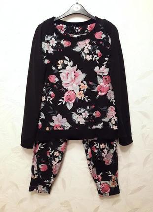 Мягусенькая пижама из стрейчевого трикотажа, 46-48, so fabulous