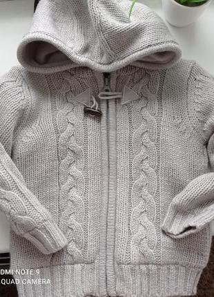 Тёплый свитер на мальчика