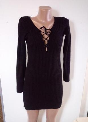 Вязане плаття(вязаное платье)