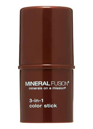 Mineral fusion 3-в-1. кремовые румяна-помада-тени