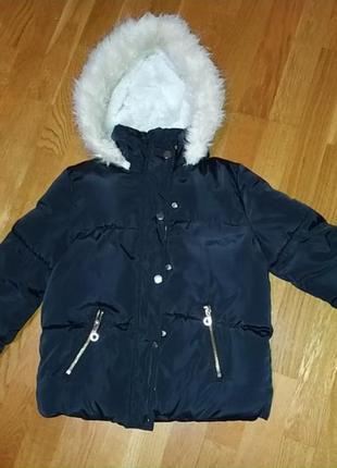 Куртка для дівчини 8-9