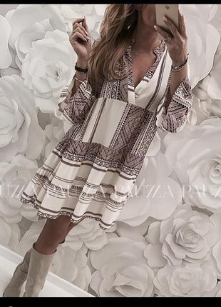 Вільне плаття італія , легке, ніжне, витончене❤️ с-м