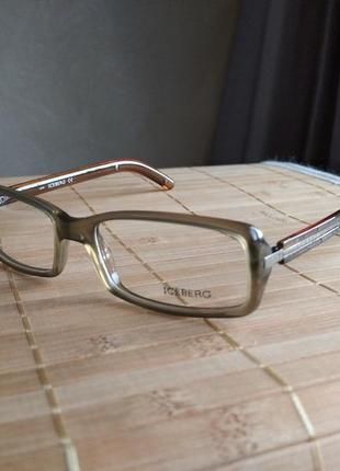 Фирменная оправа под линзы, очки оригинал iceberg ic090