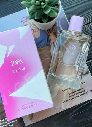 Zara orchid 200 мл духи парфюмерия туалетная вода оригинал испания купить