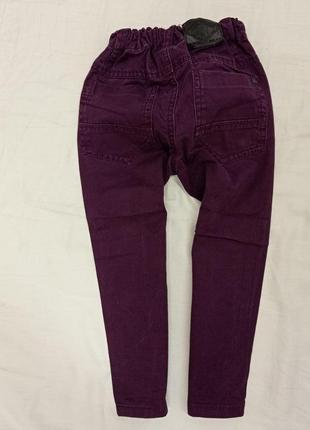 Штаники для мальчика темно фиолетового цвета.2-3 лет
