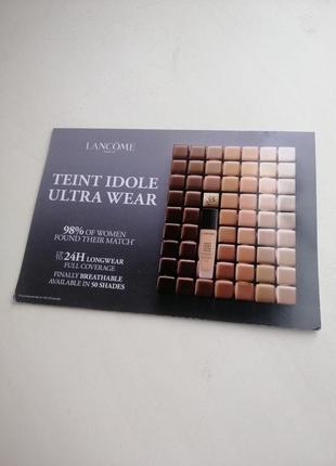 Пробник тональной основы lancome teint idole ultra wear