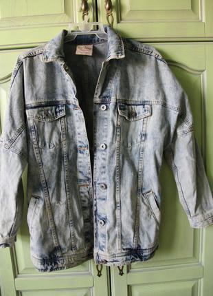 Очень крутая джинсовка из bershka