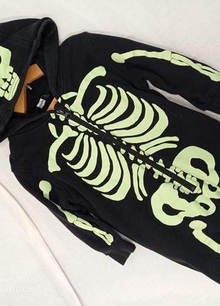 Скелет костюм карнавальный с маской