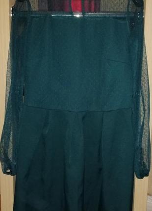 Платье (изумруд)