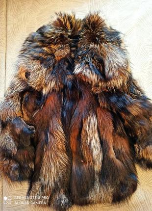 Шуба жилетка меховая натуральная жилет