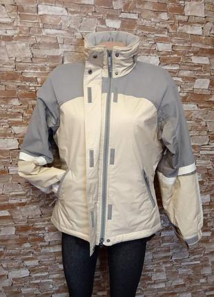 Итальянская, теплая, женская куртка, курточка лыжная, термо.