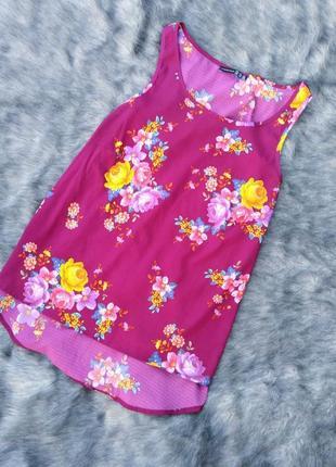 Блуза с трендовым цветочным принтом atmosphere