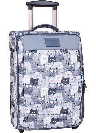 Чемодан, маленький чемодан, коты, валіза, ручная кладь, самолетный чемодан