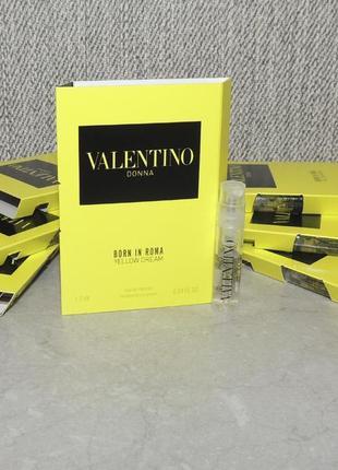 Valentino donna born in roma yellow dream пробник для женщин оригинал