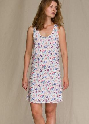 Женское домашнее платье из вискозы key lnd 946 3 a21
