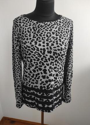 Милый леопардовый свитер 12 р от f&f