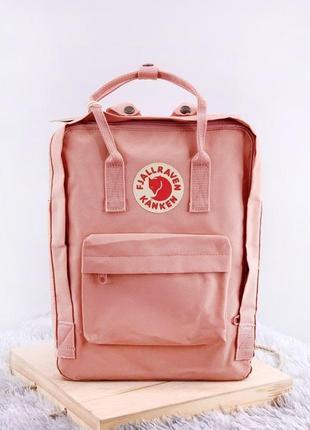 Рюкзак fjallraven kanken pink rose розовый купить фьялравен канкен