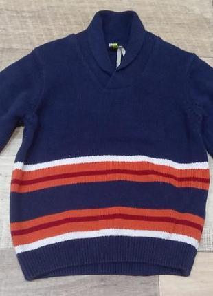 Фирменный вязаный свитер, пуловер, кофта