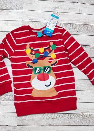 Лонгслив pepco для мальчика,футболка,кофта,реглан, размер 104