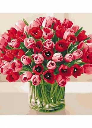 Картина по номерам жгучие тюльпаны ид на странице много сюжетов картин