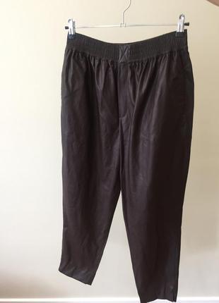 Кожаные брюки/лосины zara