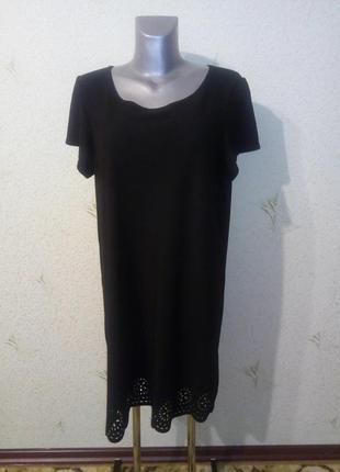 Черное платье классическое платье
