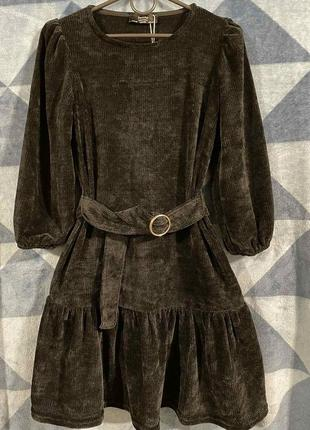 Милое платье bershka xs