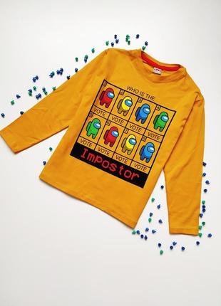Реглан для мальчика, свитшот, кофта, футболка, among us
