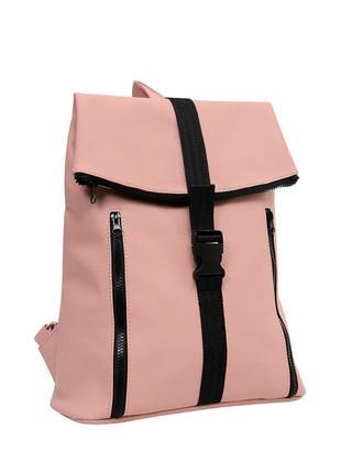Трендовий рюкзак супер якість пудра