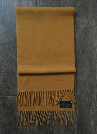 Шикарный шерстяной шарф marc o'polo