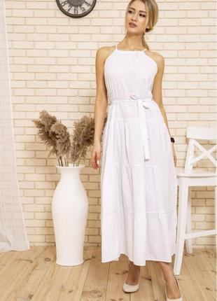Платье цвет белый