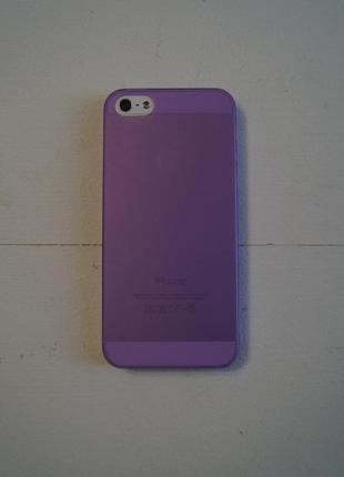 Пластиковый чехол для iphone 5, 5s, se