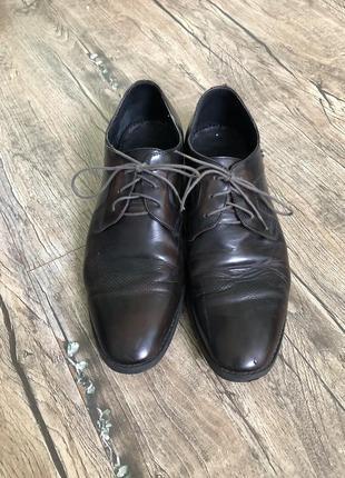 Туфлі, шкіряні 40-41 розмір