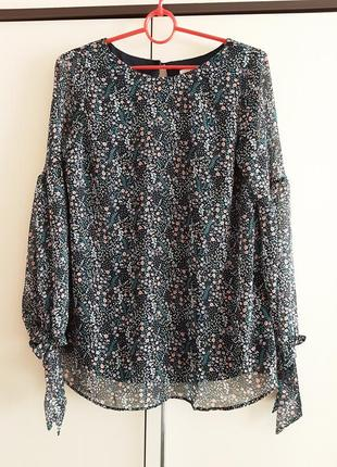 Нарядная блуза мама двухслойная,  для беременных, h&m mama