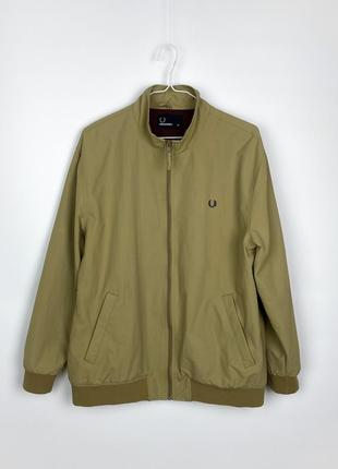 Fred perry twin tipped sports jacket warm stone (куртка/ ветровка/ харрингтон/ харик )