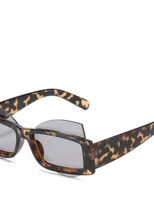 Брендовые дизайнерские солнцезащитные очки с квадратными линзами