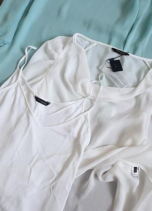 Белая блуза премиум бренда