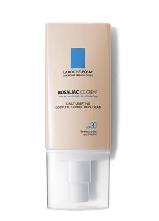 La roche-posay rosaliac cc cream spf30 cс крем ларош позе розалиак тоналка тональный крем