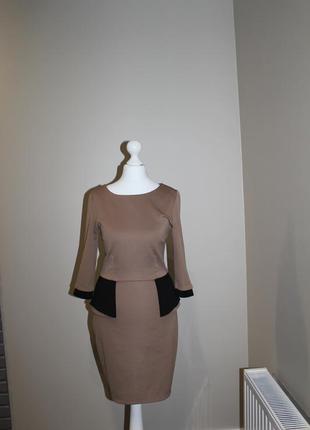 Платье футляр  баска next