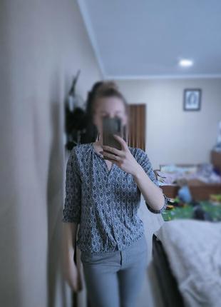 Блуза, кофточка с рукавом 3/4