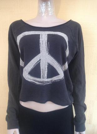 #крутой свитшот h&m#свитшот#кроп#пуловер#джемпер#oversize#