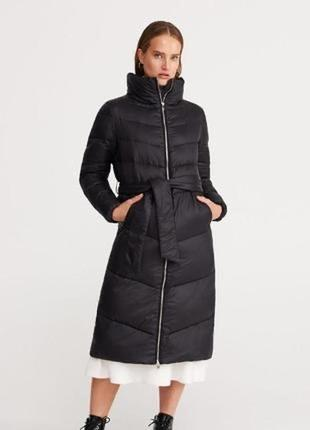 Шикарный лёгкий пуховик пальто весна осень