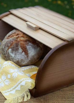 Качественные деревянные хлебницы