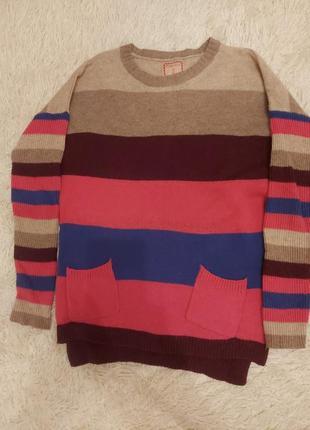 Радужный свитерок