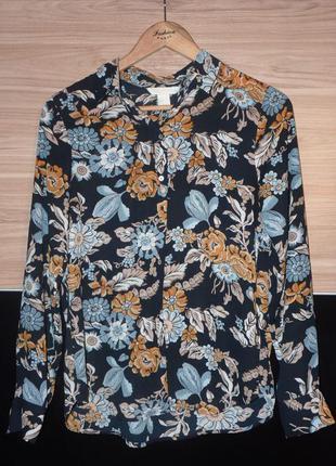 Потрясающая блуза h&m с цветочным принтом