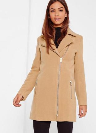 Новое пальто цвета кемел