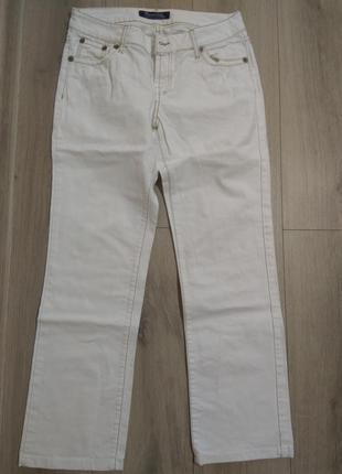 Белые джинсы massimo dutti