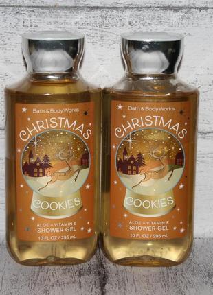 Гель для душа bath and body works cristmas cookies с ароматом карамели